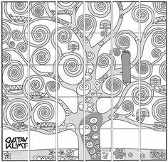 Come disegnare l'Albero della vita di Gustav Klimt - Artistica