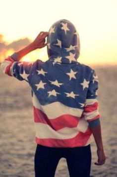 american flag sweater- must have.