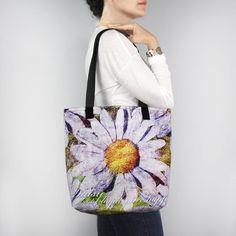 Birthday Blossom Tote Bag - April Daisy