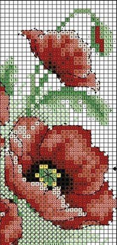 Схемы для нетерпеливых или маки во всём цвету! | biser.info - всё о бисере и бисерном творчестве