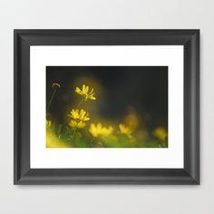 broken petal Framed Art Print by Guido Montañés - $37.00