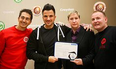 Franchise News - Peter Andre Opens Kung Fu Schools Franchise