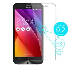 Mobile Phone Bags Cases Tempered Glass Screen Protector Film for ASUS Zenfone Selfie ZD551KL/2 Laser ZE500KL 3 5 6/GO ZB500KL ZC500TG ZB452KG ZB551KL ** Locate the offer on AliExpress website simply by clicking the VISIT button