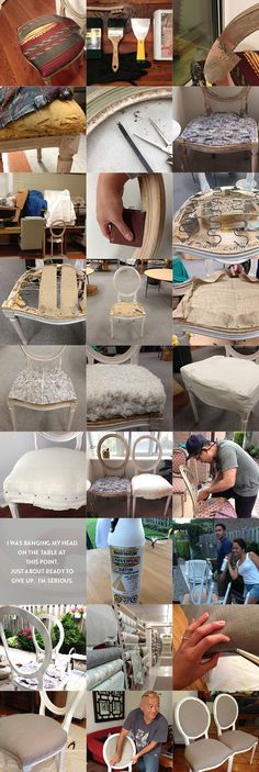 Thrifted Thursday: My Louis Chair Makeover. Louis xvi chair makeover. www.loveonsunday.com
