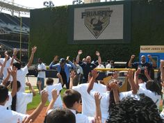 Instant Recess® break at a San Diego Padres game