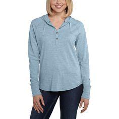 Lightweight Women s CARHARTT Coleharbor hoodie shirt Waffle Knit 0549e6515