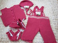 crchet baby overalls - I love this set but I am no good with graphs - I hope someone can get some use out of this pattern