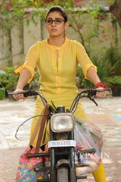 Nayanthara's Dora Movie HQ Stills Images Pictures Gallery Churidar Designs, Kurta Designs Women, Latest Kurti Designs, Dress Neck Designs, Blouse Designs, Dora Movie, Kurta Neck Design, Kurti Patterns, Sewing Patterns