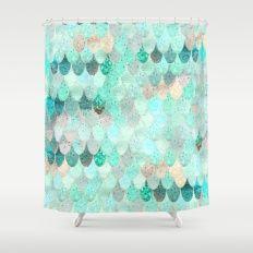 SUMMER MERMAID Shower Curtain