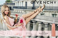 Givenchy Live Irrésistible (2015) {New Fragrance} {Perfume Images & Ads}
