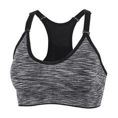 eafdcbe106407 taigee Women s Zipper Front Closure Sports Bra Zipped Workout Yoga Bras