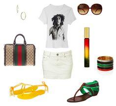 I like the shirt & sunglasses.