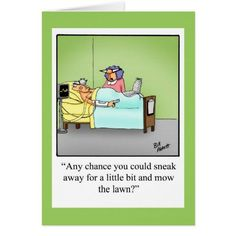 #Spring #AdoreWe #Zazzle - #Zazzle Get Well Humor Greeting Card - AdoreWe.com