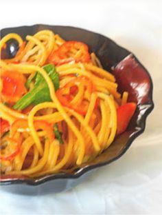 My Sweet and Savory: Thai Quinoa Noodle Salad GF