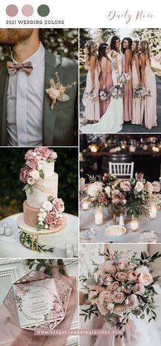 Blush Wedding Colors, Wedding Color Pallet, Pink Wedding Theme, Dusty Rose Wedding, Spring Wedding Colors, Blush Pink Weddings, Wedding Color Schemes, Dream Wedding, Colors For Weddings