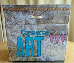 Chalk it Up Chalk It Up, Non Toxic Paint, Upcycle, Mixed Media, Recycling, Diy Projects, Earth, Create, Painting