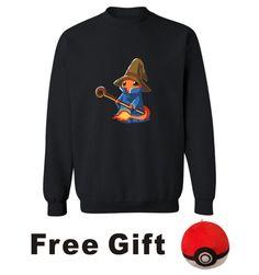 Pokemon Go Charmander Wizard Sweatshirt Men Streetwear Design in Anime Pocket Monster Mens Hoodies and Sweatshirts Set 4XL #Affiliate
