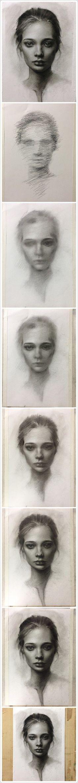 Pencil Portrait Mastery - 堆糖-美好生活研究所 - Discover The Secrets Of Drawing Realistic Pencil Portraits #drawingrealistic