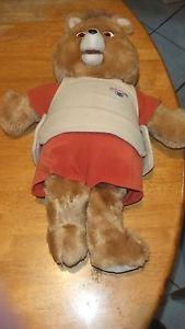 Interactive Talking Teddy Ruxpin Bear | eBay