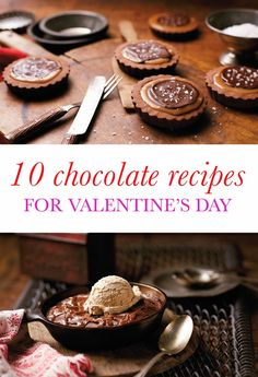 Share the sweet, sweet love with 10 decadent chocolate recipes, just in time for Valentine's Day, including these Spicy Brownies for Two.
