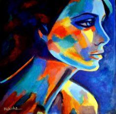 "Saatchi+Online+Artist+Helena+Wierzbicki;+Painting,+""Shadows+and+silence""+#art"