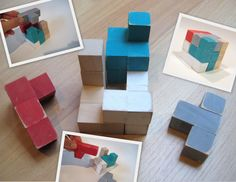 East Coast Creative: Make your own Cube Puzzle {Jamie from C.R.A.F.T}