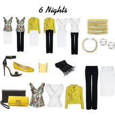 """""""6 Nights - Travel light"""""""
