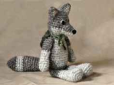 Häkelmuster Wolf made by Son's Popkes shop via DaWanda.com