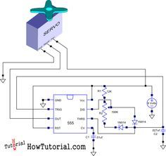 Sinking and Sourcing the 555 Timer | electronic | Pinterest