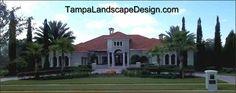 Lutz landscape design tuscan mediterranean cypress by Lauren Shiner, Tampa Landscape Design, LLC, tampalandscapedesign.com