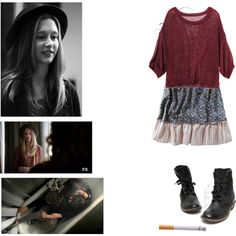 """Violet Harmon"" by ginader on Polyvore"