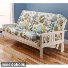Shop for Somette Beli Mont Multi-Flex Antique White Wood Futon Frame with Innerspring Mattress. Get free shipping at Overstock.com - Your Online Furniture Outlet Store! Get 5% in rewards with Club O! - 15379950