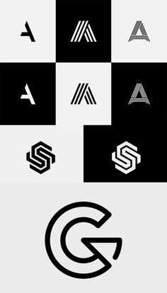 A logo is a strong brand identity of a company and designing a perfect logo is not an easy task. Logos are essential for company growth, whereas a unique logo Monogram Logo, Initials Logo, S Logo Design, Lettering Design, Ci Design, S Letter Logo, Letter A Logo Design, Logo Minimalista, Restaurant Logo