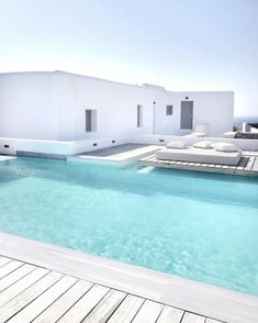 Everyone enjoys luxury swimming pool designs, aren't they? Below are some leading list of deluxe swimming pool image for your inspiration. These dreamy pool design suggestions will certainly change your yard into an outside sanctuary. Indoor Pools, Small Indoor Pool, Piscina Hotel, Moderne Pools, Pool Colors, Building A Pool, Luxury Pools, Dream Pools, Beautiful Pools