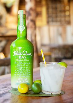 This easy cocktail recipe requires only three ingredient.   Shake rum and honey with ice until frosty. Strain into a rocks glass filled with crushed ice. Top with club soda and garnish with a lime wedge.  #bluechairbay #keylimerumcream #BCBHappyHour Graham Cracker Crust, Graham Crackers, Easy Cocktails, Cocktail Recipes, Key Lime Rum Cream, Honey Syrup, Kenny Chesney, Lime Wedge, Shake