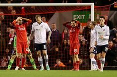 Missed chances cost Liverpool dear in #FACup fourth round tie with Bolton. FT 0-0
