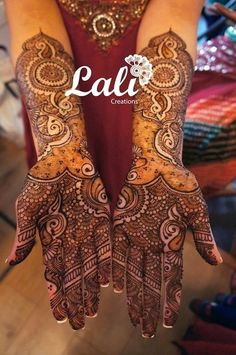 mehndi maharani finalist: Lali Creations http://maharaniweddings.com/gallery/photo/26886