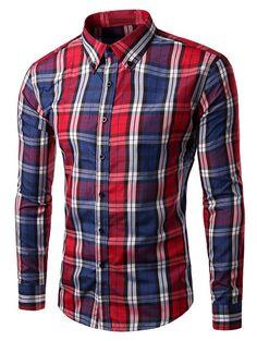 YUNY Mens Lapel Dark Floral Casual Fit Long Sleeve Western Shirt Black L