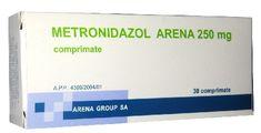 Medimfarm - METRONIDAZOL ARENA 250 MG (J01XD01) X 30 Fungi, App, Mushrooms, Apps