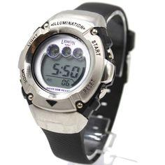 DW213LG Chronograph Date Alarm BackLight Water Resist Ladies Women Digital Watch