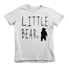 Bear Family Youth Tee // Little Bear
