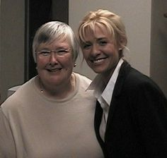 Sue Thomas with Deanne Bray