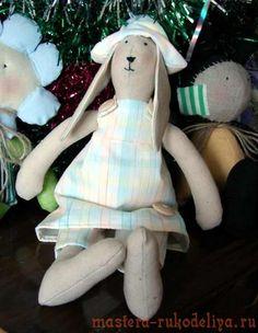 Мастер-класс по пошиву игрушки Заяц Тильда