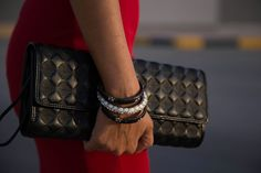 Clutch and bangles