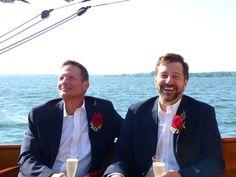 27 Best Lesbian & Gay Weddings aboard the yacht Sail Selina II, St