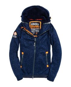 8daee017afdc6 Mens - Storm Double Zip Hoodie in Rich Navy