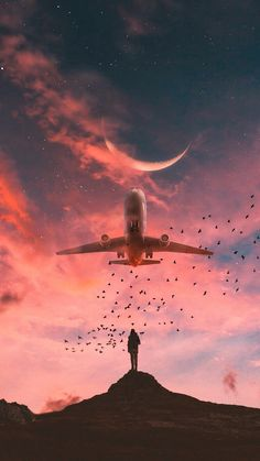New street art nature pictures ideas Wallpaper Hipster, Wallpaper Travel, Wallpaper Hq, Airplane Wallpaper, Wallpaper Backgrounds, Wallpaper Quotes, Motivational Wallpaper, Amazing Photography, Nature Photography