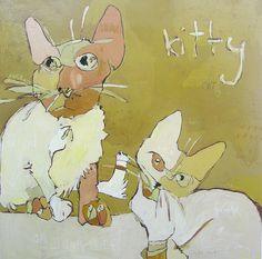 Jennifer Mercede  Love her kittys!