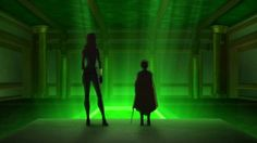 Son of Batman Talia and Damian in the Lazarus Pit chamber Lazarus Pit, Son Of Batman, Dc Universe, Marvel Dc, Northern Lights, Comics, Travel, Projects, Voyage