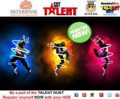 Are you interested in being a part of Ahmedabad Mirror Talent Hunt Season -3 sponsored by Silver Oak. Register Now .Students who enroll will have to appear for the elimination round .Registrations open till 13-5-2015 4 P.M.. Register Now. Get a chance to showcase your talent and be a pride of SOCET. For Registration you may contact your respective departmental heads.